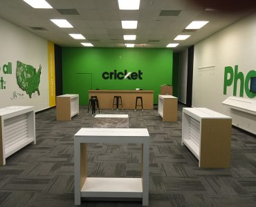 Cricket Stores Remodeling